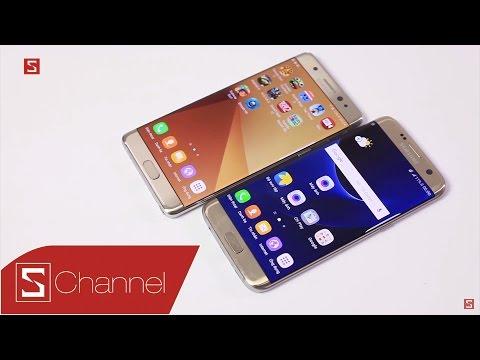 Schannel - Galaxy Note 7 vs Galaxy S7 Edge: Tiền không thành vấn đề, đâu là chiếc máy đáng mua hơn?