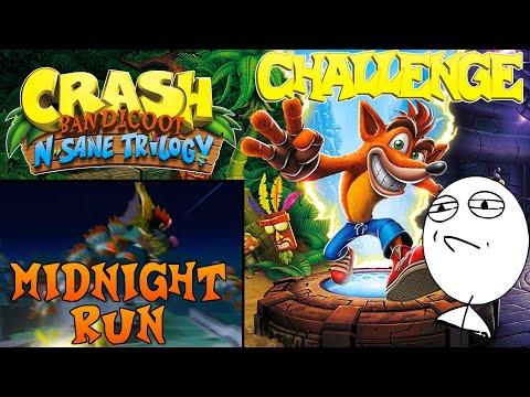 Let's Challenge Crash Bandicoot N. Sane Trilogy (Midnight Run): Platin-Relikt | 0:15:13