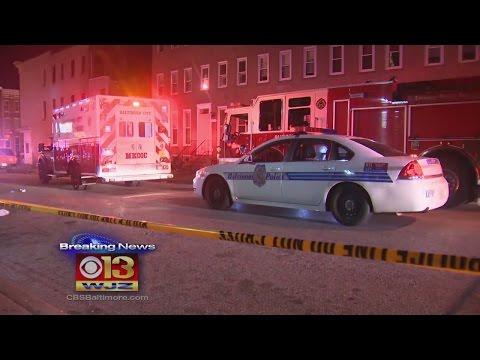 Baltimore Police Follow Multiple Person Shooting in E. Baltimore