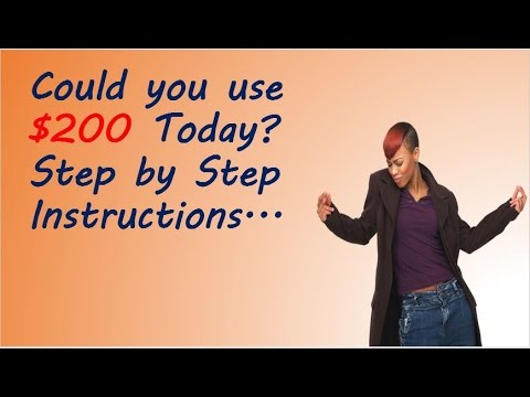 Could You Use 200 Today Step By Step Instructions Work From Home Jobs In Dallas Tx