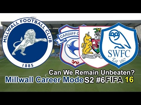 FIFA 16 Millwall Career mode S2 #6-Can We Remain Unbeaten?