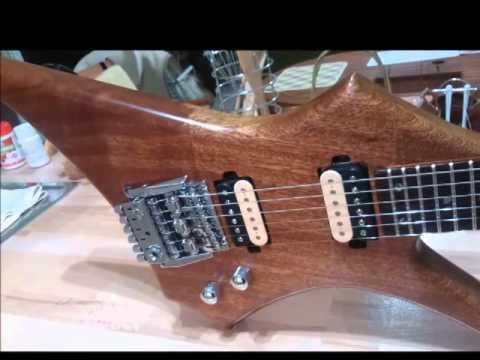 washburn hm series with wonderbar tremolo by ld guitars youtube