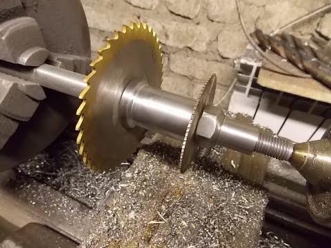Универсальная оправка для дисковых фрез на токарный станок