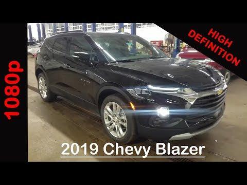 2019 Chevy BLAZER LEATHER 3LT - Black FWD - WALK AROUND ...