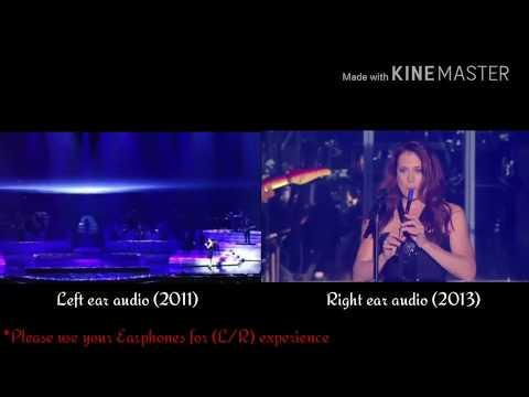 Céline Dion LIPSYNCING [LIVE] - My Heart Will Go On [Las Vegas Vs Quebec] / (2011 Vs 2013)