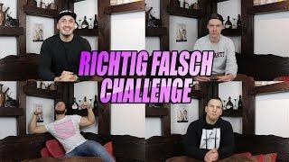 RICHTIG FALSCH CHALLENGE