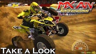 MX vs. ATV: Supercross - X360 PS3 Gameplay (XBOX 360 720P) Take a Look
