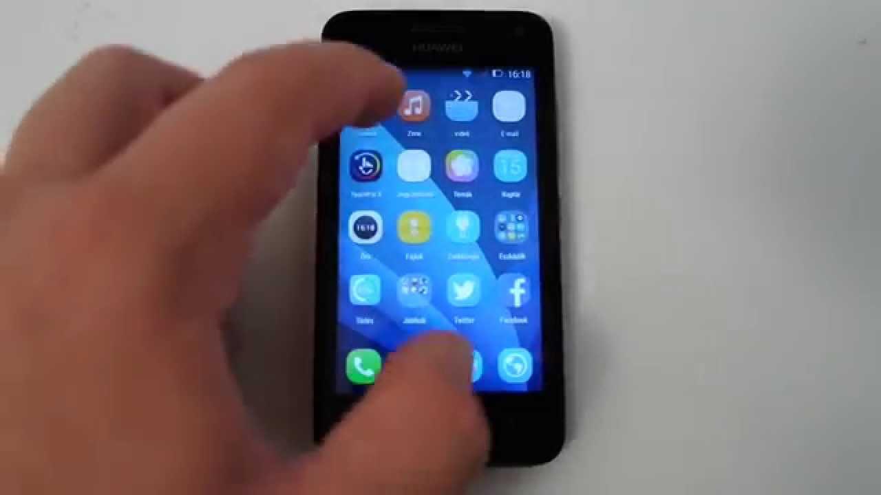 Huawei Y3 Dual SIM Y360 U61 részletes specifikáció