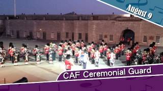 CAF Ceremonial Guard, August 9 2014
