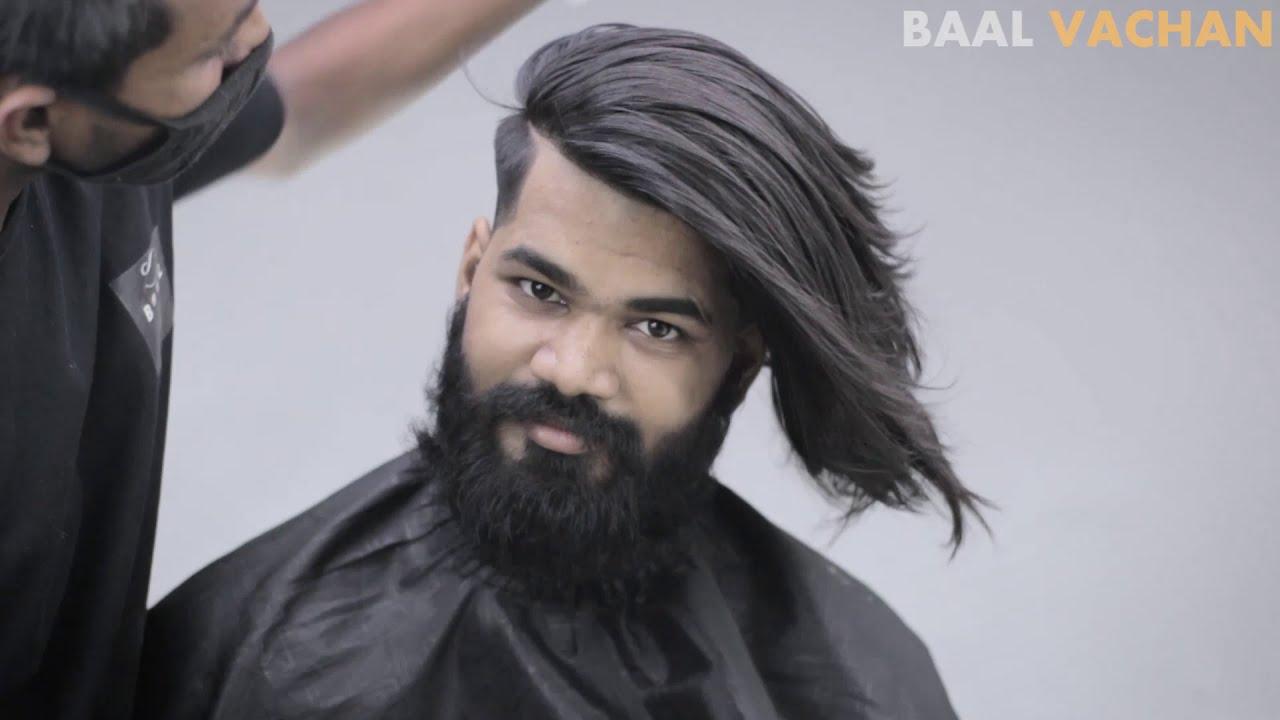 Amazing 6 Month Long Haircut Transformation 2020 Of Indian Men Mens Long Haircut 2020 Youtube