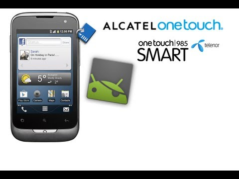 Alcatel One Touch 985 Hands-On ROOT, CPU Overclock 806Mhz and Link2SD Partition