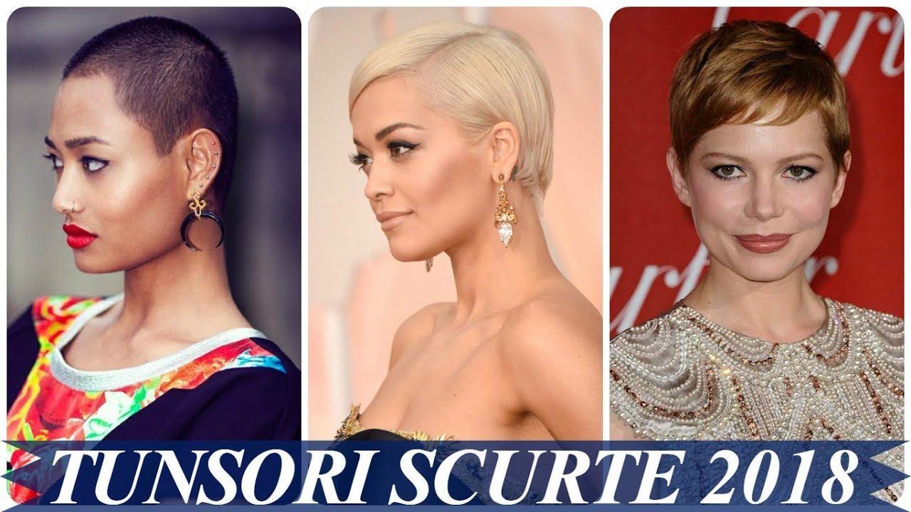 Modele De Coafuri Pentru Par Scurt Si Rar 2018 Femei Youtube