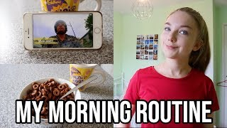 MY SCHOOL MORNING ROUTINE (vlog style)|Sophia
