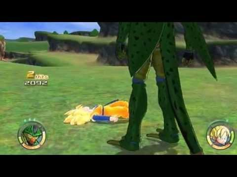 Dragon Ball Raging Blast 2 Imperfect Cell's Rampage