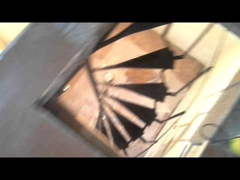 Винтовая лестница своими руками из подручный материалов