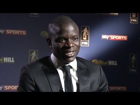 N'Golo Kante Interview After He Collects Footballer Of The Year Award