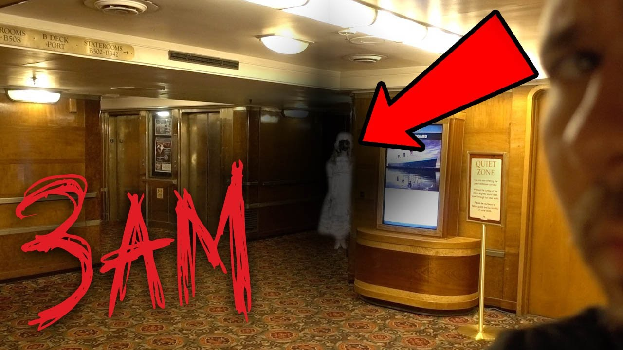Haunted Queen Mary Ship At 3am Ghost Hunting In A Haunted Ship
