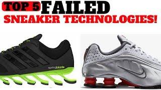 Top 5 FA LED Sneaker Cushioning Technologies