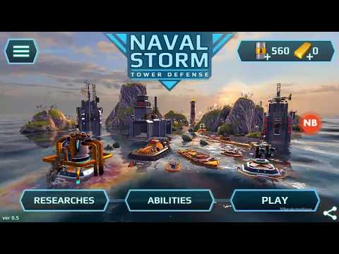 Naval storm Thunder in paradise 1-1 First Contact Gameplay