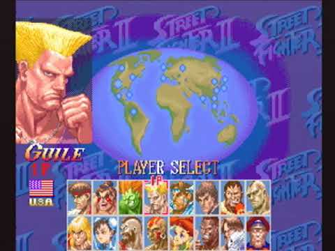 [未編集] Guile(ガイル) - SUPER STREET FIGHTER II X for 3DO on GV-VCBOX