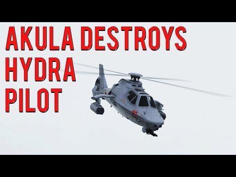 Akula Destroys Hydra Pilot & More | Gta 5 Online
