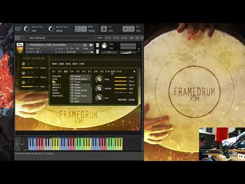 Frame Drum X3M Walkthrough