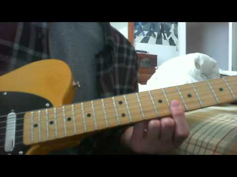 run rudolph run guitar lesson chuck berry - YouTube