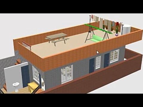 17x45 HOUSE DESIGN (3D)_1BHK