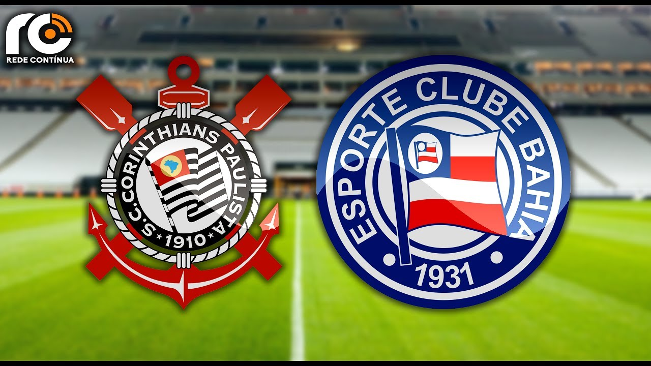 Corinthians X Bahia Ao Vivo Brasileirão Youtube