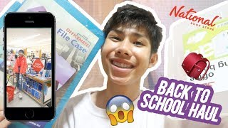 BACK TO SCHOOL SUPPLIES HAUL AND VLOG 2019! | RenielReyesTV