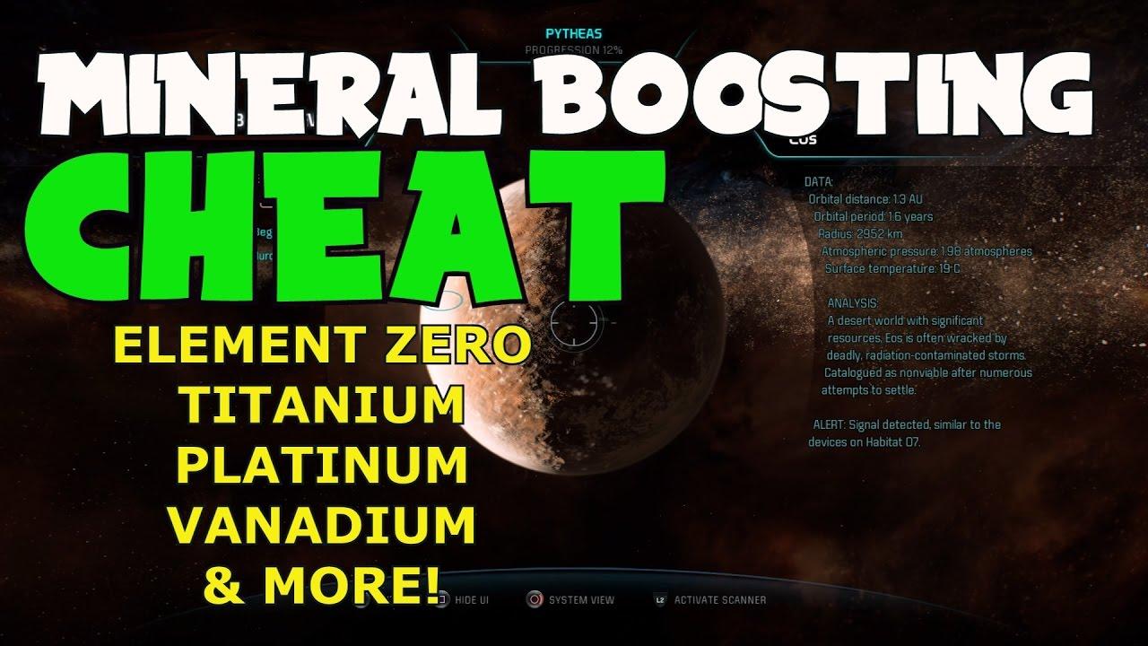 <b>Mass Effect Andromeda</b> - Unlimited Minerals <b>CHEAT</b>/EXPLOIT (Element ...
