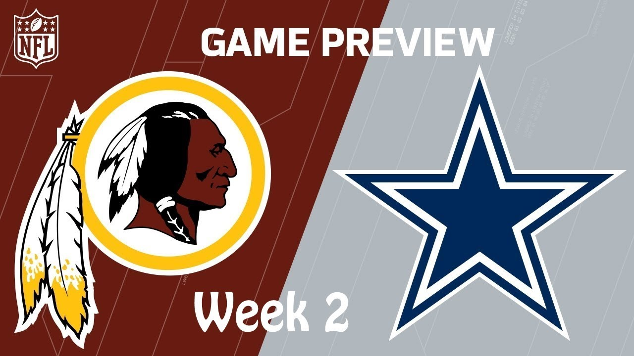 Cowboys vs. Redskins: Live updates, game stats, highlights for Week 2 NFC East matchup