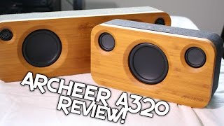 BEST $80 BLUETOOTH SPEAKER - ARCHEER A320 REVIEW! + SOUND DEMO