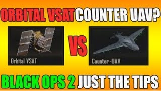 Will Counter UAV Block an Orbital VSAT? | Black Ops 2: Just The Tips (HD)