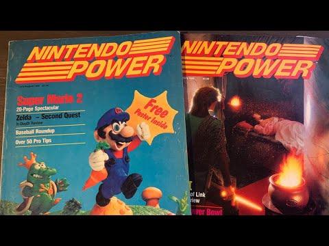 Retro Game Magazine Stream! Nintendo Power, Sega Visions, EGM - Mike Matei Live