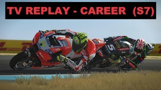MotoGP Mod 2018 | Career #126 | #AustralianGP | Race 16/18 | TV REPLAY GAME