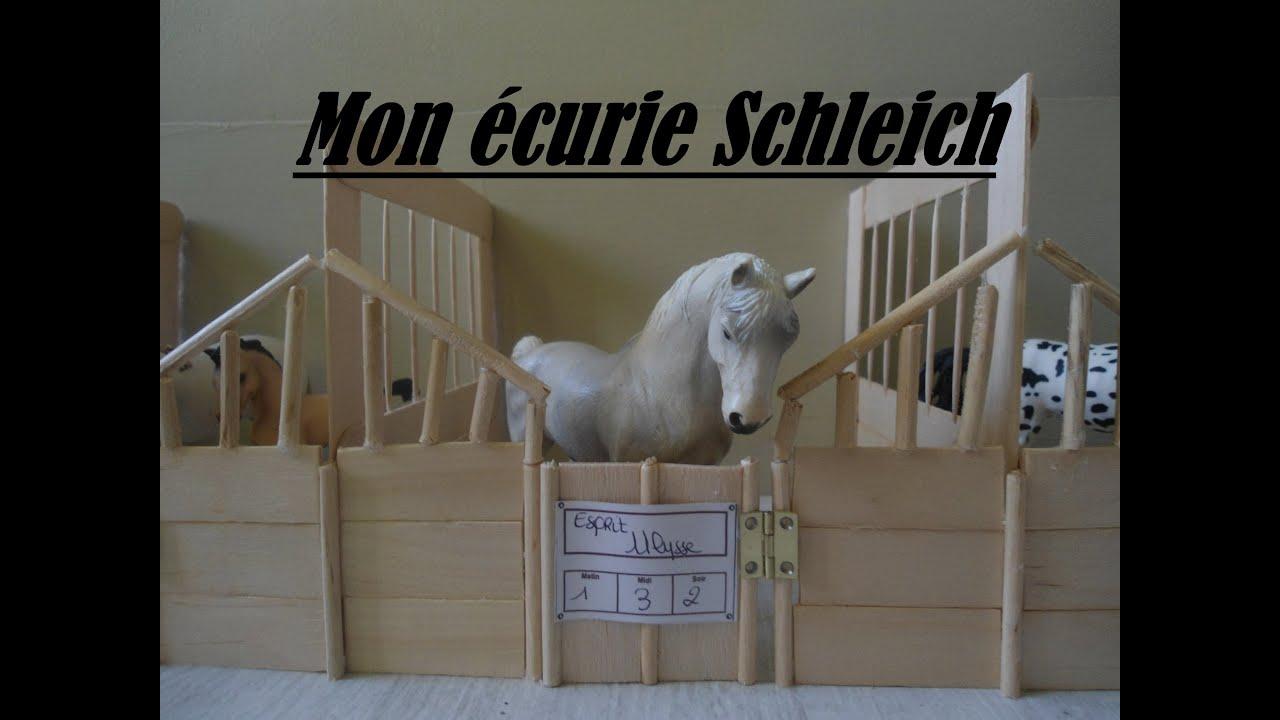 La r alisation de mon curie schleich youtube - Porte de box pour chevaux a vendre ...