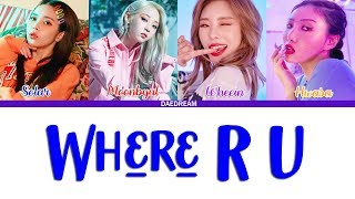 MAMAMOO - Where R U [LEGENDADO PT-BR]