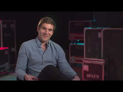 "BOHEMIAN RHAPSODY ""Paul Prenter"" Allen Leech Behind The Scenes Interview"