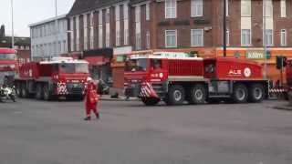 ALE Trojan Horses- Heavy Haulage in North London 25th October 2015