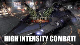 Elite: Dangerous - High Intensity Combat! | Python Pew-Pew!