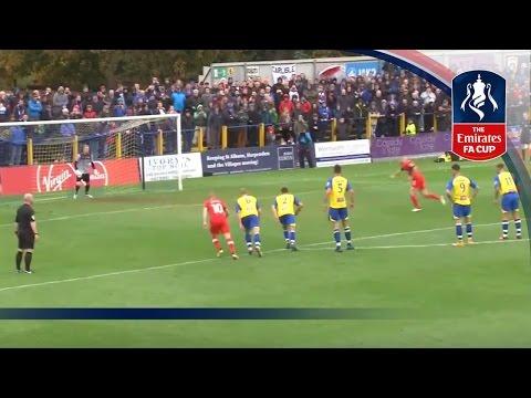 St Albans City 3-5 Carlisle - Emirates FA Cup 2016/17 (R1) | Goals & Highlights