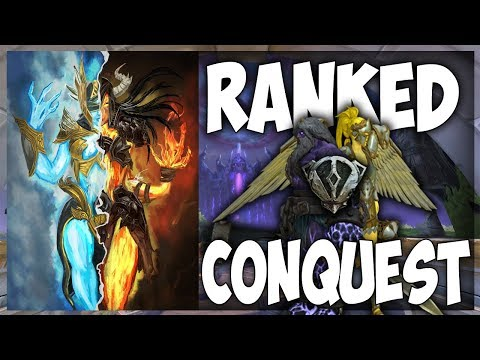 Smite: S5(Qualifying) Ranked Conquest Grind #3 - Hel Mid
