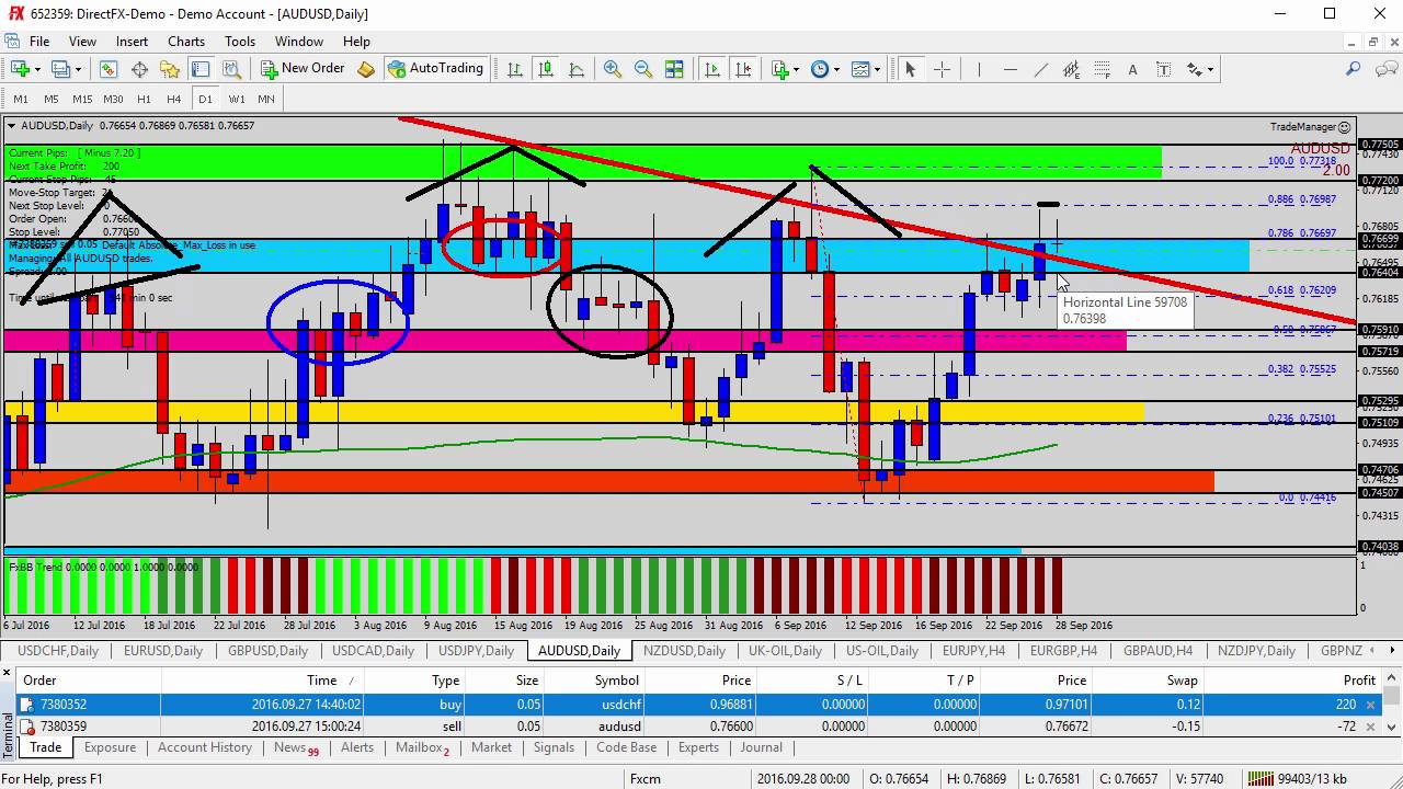 Forex traders daily support 2k