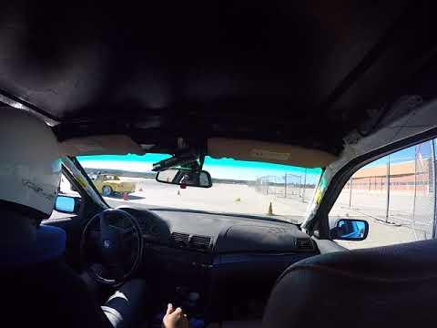 FCM BMW 330i autox LPR Porsche - Kill-a-Cone - Morgan Autism Center - Run 4