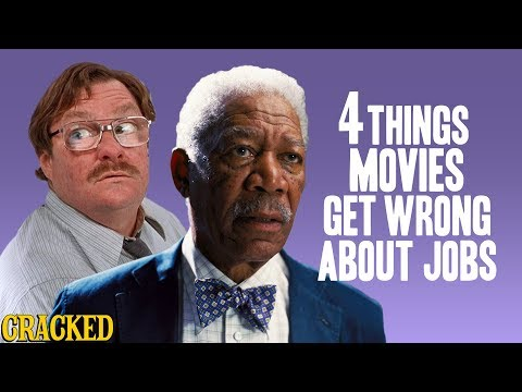4 Things Movies Get Wrong About Jobs (Office Space, Batman Begins)