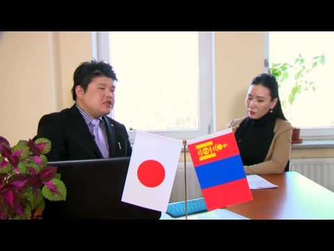 KIS GROUP PRESIDENT KONDO  in TV Olloo MONGOLIA