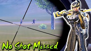 Destroy Squad With Awm - No Shot Missed 🔥 Full Sniper Match - King Of Magic Shot | Pubg Mobile