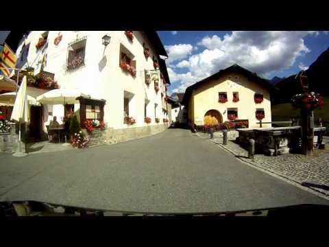 Switzerland Tarasp - Village Tour [HD]