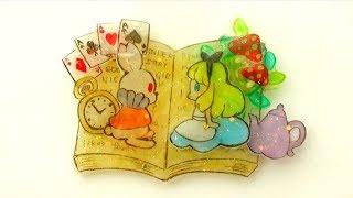 【重ねプラ板】不思議な国のアリス Alice in Wonderland